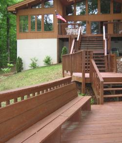 View of Decking